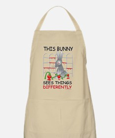This Bunny Sees Things Differently Apron