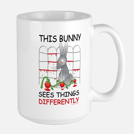 This Bunny Sees Things Differently Mugs