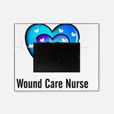 Wound Care nurse Blue Whites Picture Frame