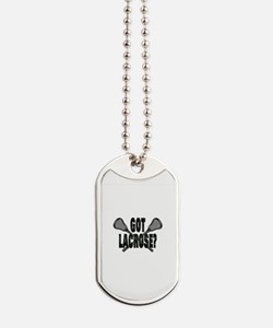 Got Lacrosse Dog Tags