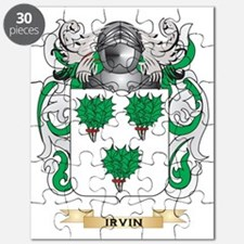 Irvin Coat of Arms (Family Crest) Puzzle