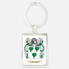 Irving Coat of Arms (Family Cres Portrait Keychain