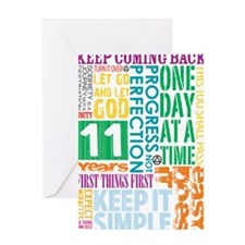11 Years Greeting Cards