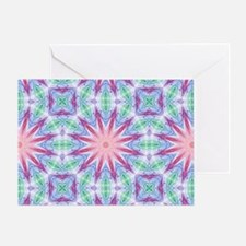 Colorful Spiderweb Greeting Card