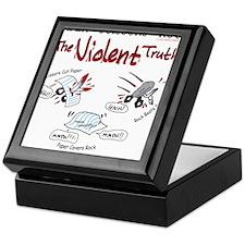 Paper Scissors Rock- The Violent Truth Keepsake Bo