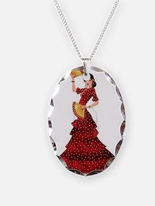 spanish flamenco dancer Necklace