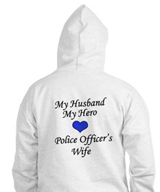 Police Officer's Wife Hoodie
