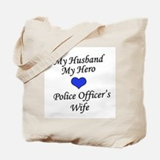 Police Officer's Wife Tote Bag
