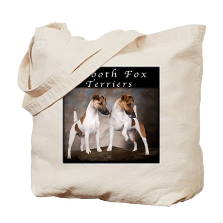 Smooth Fox Terriers Tote Bag