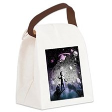Starseed Galaxy Traveler Canvas Lunch Bag