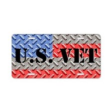 US Vet Aluminum License Plate
