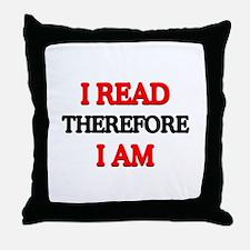 I Read Throw Pillow