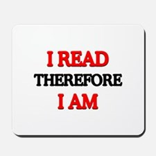 I Read Mousepad