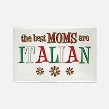 Italian Moms Rectangle Magnet