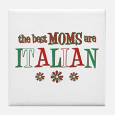 Italian Moms Tile Coaster