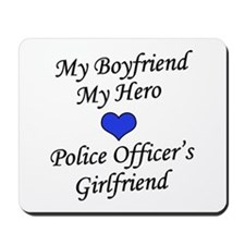Police Officer's Girlfriend Mousepad