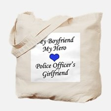 Police Officer's Girlfriend Tote Bag