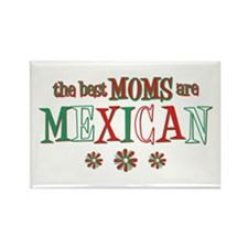 Mexican Moms Rectangle Magnet