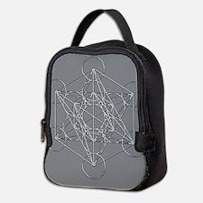 Metatrons Cube Neoprene Lunch Bag