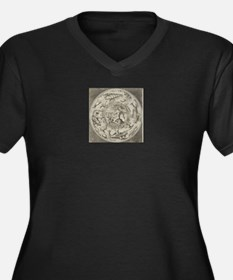 Neptune and Sea Monsters Plus Size T-Shirt