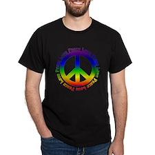 Love Peace Peace Symbol T-Shirt