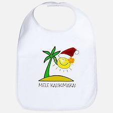 Hawaiian Christmas - Mele Kalikimaka Bib