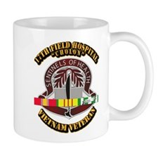 DUI - 17th Field Hospital w SVC Ribbon Mug
