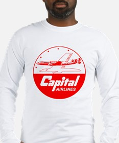 Capital Airlines Constellation Long Sleeve T-Shirt