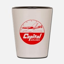 Capital Airlines Constellation Shot Glass