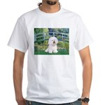 Bridge & Bichon White T-Shirt