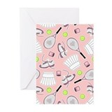 Tennis Greeting Cards (10 Pack)