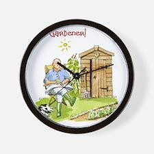 Head Gardener! Wall Clock