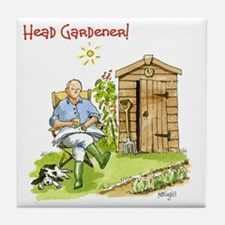 Head Gardener! Tile Coaster