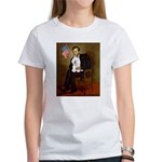 Lincoln & his Bichon Women's T-Shirt