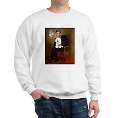 Lincoln & his Bichon Sweatshirt