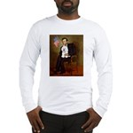 Lincoln & his Bichon Long Sleeve T-Shirt