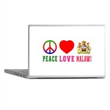 Peace Love Malawi Laptop Skins