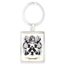 Jackson Coat of Arms (Family Cre Portrait Keychain