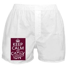 Keep Calm and Call An Advocate Boxer Shorts