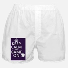 Keep Calm and Game On Boxer Shorts