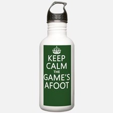 Keep Calm the Game's A Water Bottle