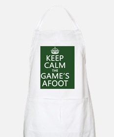Keep Calm the Game's Afoot Apron