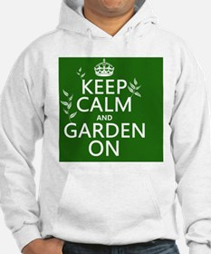Keep Calm and Garden On Hoodie