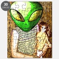Alien Child with Doll Puzzle