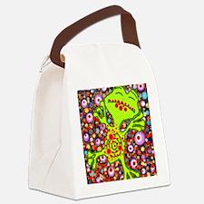 bang! bang! frog Canvas Lunch Bag