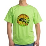 Snapping Turtle products Green T-Shirt