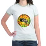 Snapping Turtle products Jr. Ringer T-Shirt