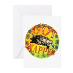 Snapping Turtle products Greeting Cards (Package o