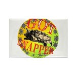 Snapping Turtle products Rectangle Magnet