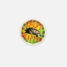 Snapping Turtle products Mini Button